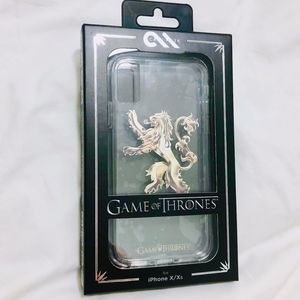 NEW Game of Thrones Lannister iPhone X/Xs Case